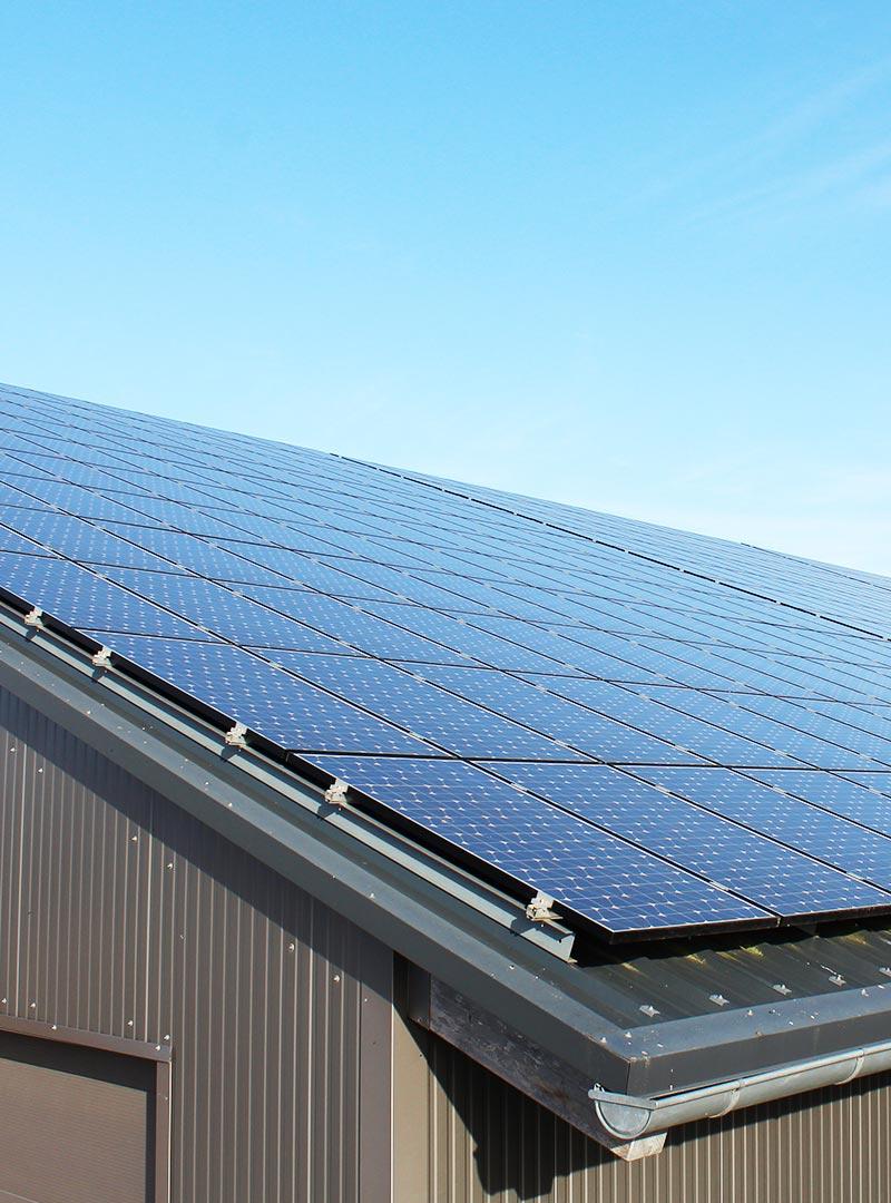 Photovoltaik Installation Illerkirchberg